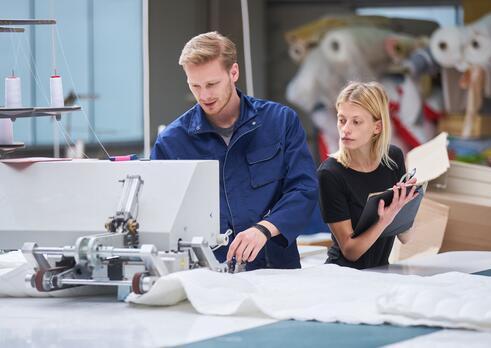 Riadiaci pracovník (manažér) v textilnej a odevnej výrobe