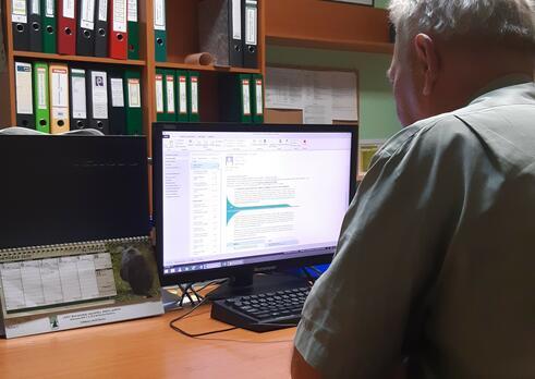 Riadiaci pracovník (manažér) útvaru lesníckej výroby