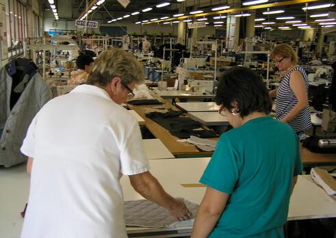 Špecialista riadenia textilnej a odevnej výroby