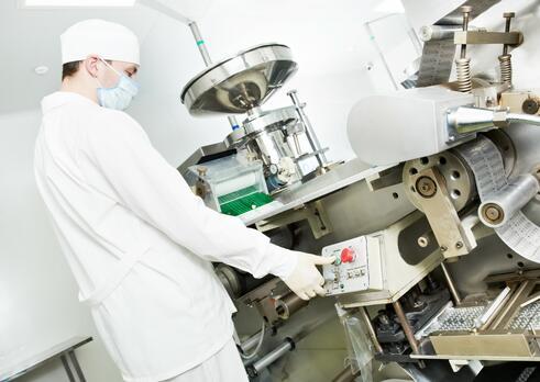 Operátor strojov a zariadení vo farmaceutickej výrobe
