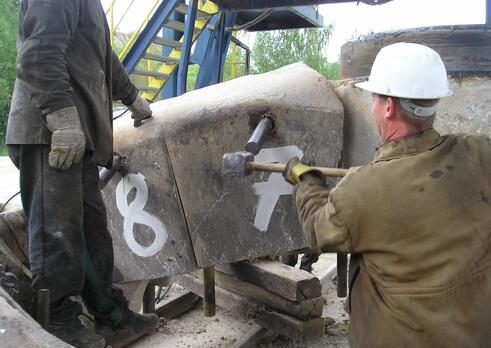 Strojník zariadení na úpravu nerastných surovín