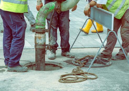 Čistič kanalizačných zariadení