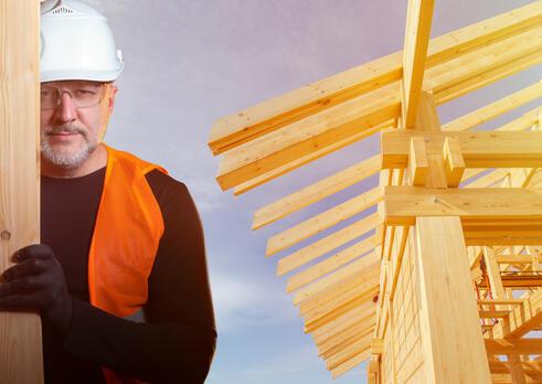 Montážny pracovník drevených konštrukcií