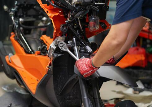 Mechanik motocyklov
